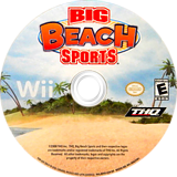 Big Beach Sports Wii disc (RVVE78)