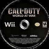 Call of Duty: World at War Wii disc (RVYE52)