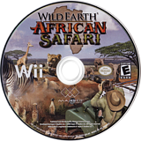 Wild Earth: African Safari Wii disc (RWDE5G)