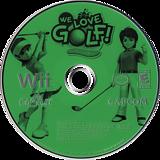 We Love Golf! Wii disc (RWGE08)