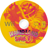 Wario Land: Shake It! Wii disc (RWLE01)