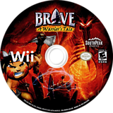 Brave: A Warrior's Tale Wii disc (RWXES5)