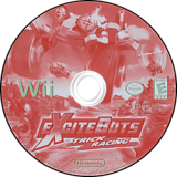 ExciteBots: Trick Racing Wii disc (RX3E01)
