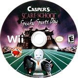Casper's Scare School: Spooky Sports Day Wii disc (RX4E4Z)