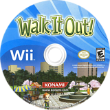 Walk It Out! Wii disc (RY6EA4)