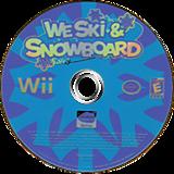 We Ski & Snowboard Wii disc (RYKEAF)