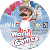 World Party Games Wii disc (RYZE6U)