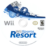 Wii Sports Resort Wii disc (RZTE01)