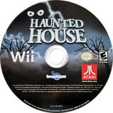 Haunted House Wii disc (S2HE70)