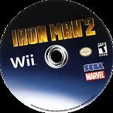 Iron Man 2 Wii disc (S2IE8P)