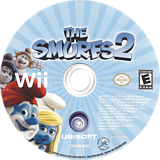The Smurfs 2 Wii disc (S2XE41)