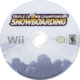 Triple Crown Championship Snowboarding Wii disc (S3CENR)