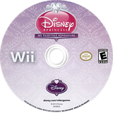 Disney Princess: My Fairytale Adventure Wii disc (S3PE4Q)