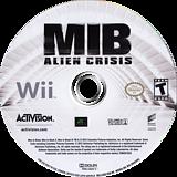 Men In Black: Alien Crisis Wii disc (S3ZE52)