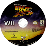 Back to the Future: The Game Wii disc (S5BETL)