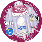 Disney Princess: Enchanting Storybooks Wii disc (S6IE78)