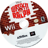 Wreck-It Ralph Wii disc (S6RE52)