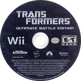 Transformers: Ultimate Battle Edition Wii disc (S7EE52)