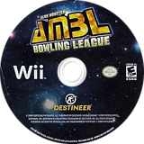 Alien Monster Bowling League Wii disc (SABENR)