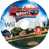 Backyard Sports: Sandlot Sluggers Wii disc (SADE70)