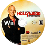 Harley Pasternak's Hollywood Workout Wii disc (SAQE5G)