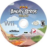Angry Birds Trilogy Wii disc (SAWE52)