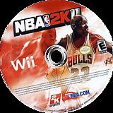NBA 2K11 Wii disc (SB5E54)