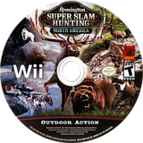 Remington Super Slam Hunting: North America Wii disc (SBSEFP)