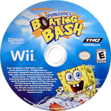 SpongeBob's Boating Bash Wii disc (SBVE78)