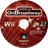 Dance on Broadway Wii disc (SBYE41)