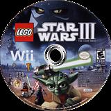 LEGO Star Wars III:The Clone Wars Wii disc (SC4E64)