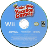 Cruise Ship Vacation Games Wii disc (SCSE52)