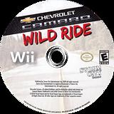 Chevrolet Camaro: Wild Ride Wii disc (SCXESZ)