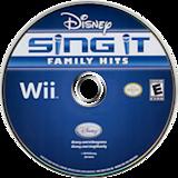 Disney Sing It: Family Hits Wii disc (SDFE4Q)