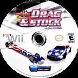 Maximum Racing: Drag & Stock Racer Wii disc (SDREYG)