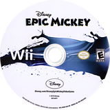 Disney Epic Mickey Wii disc (SEME4Q)