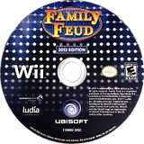 Family Feud 2012 Edition Wii disc (SF7E41)