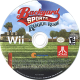 Backyard Sports Football: Rookie Rush Wii disc (SFBE70)