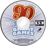 Family Party: 90 Great Games Party Pack Wii disc (SFYEG9)