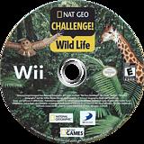 Nat Geo Challenge! Wild Life Wii disc (SGEEG9)