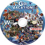 Go Vacation Wii disc (SGVEAF)