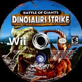 Battle of Giants: Dinosaurs Strike Wii disc (SGXE41)