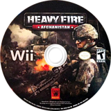 Heavy Fire: Afghanistan Wii disc (SH4EFP)