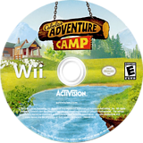 Cabela's Adventure Camp Wii disc (SH8E52)
