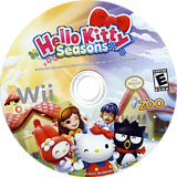 Hello Kitty Seasons Wii disc (SHKE20)