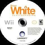 Shaun White Skateboarding Wii disc (SHNE41)