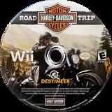 Harley Davidson: Road Trip Wii disc (SHZENR)