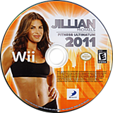 Jillian Michaels Fitness Ultimatum 2011 Wii disc (SJIEG9)