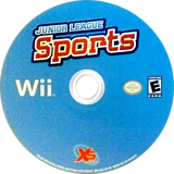 Junior League Sports Wii disc (SJLEFS)