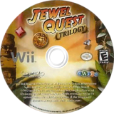 Jewel Quest Trilogy Wii disc (SJQEPZ)